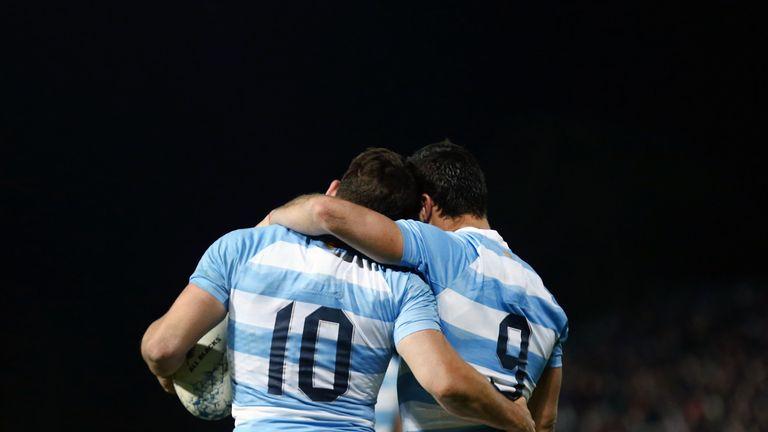 Argentina fly-half Nicolas Sanchez made two counts of history at Trafalgar Park