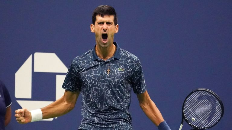Novak Djokovic will be defending his US Open title at Flushing Meadows