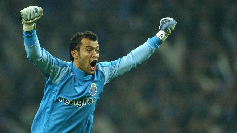 Nuno was a goalkeeper with Porto