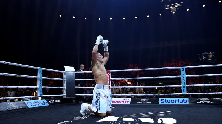 Usyk won the World Boxing Super Series tournament