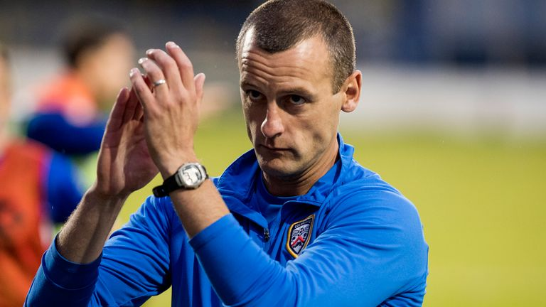 Coleraine manager Oran Kearney joins St Mirren after failing to get the job in the summer
