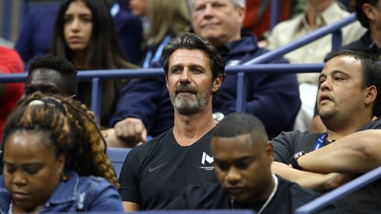 Coach of Serena, Patrick Mouratoglou, admitted coaching mid-match