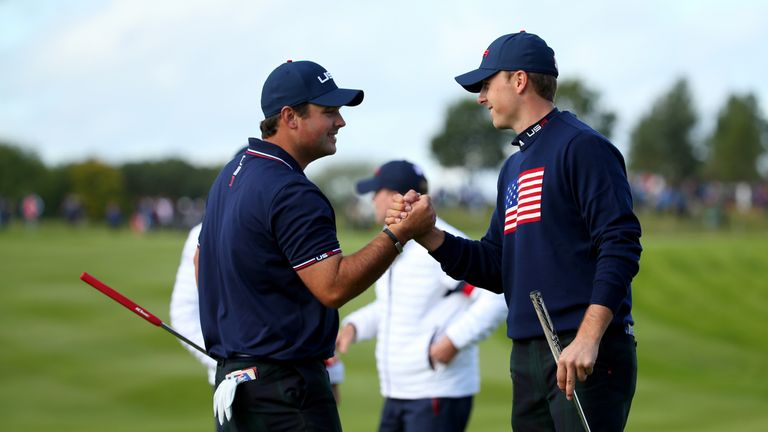 Patrick Reed and Jordan Spieth played well together at Gleneagles in 2014