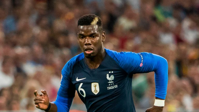 Paul Pogba will be looking to lead France to victory against the Netherlands