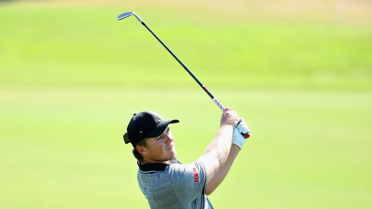 Eddie Pepperell was bidding for his second tour win this season