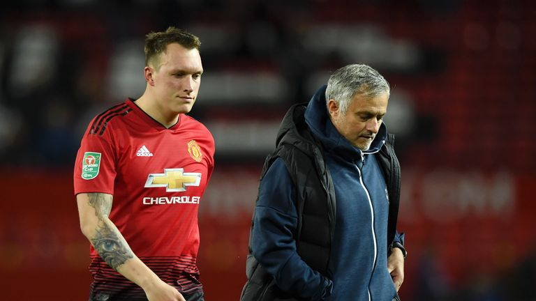 Phil Jones says the Tottenham game will be an indicator of how far United have progressed