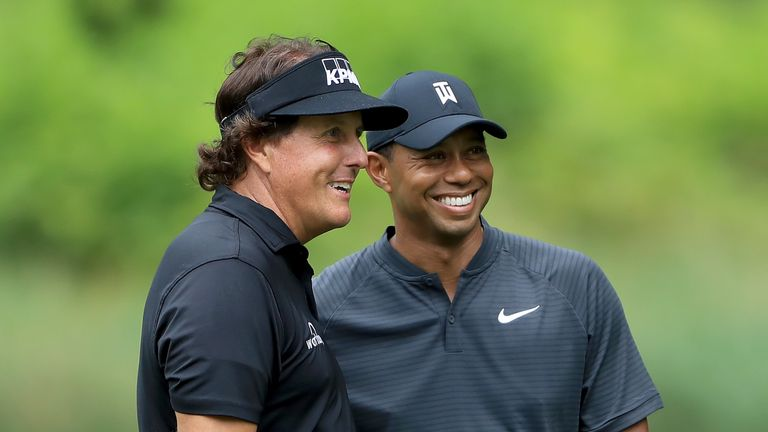 Phil Mickelson and Tiger Woods bring huge experience to Team USA's side