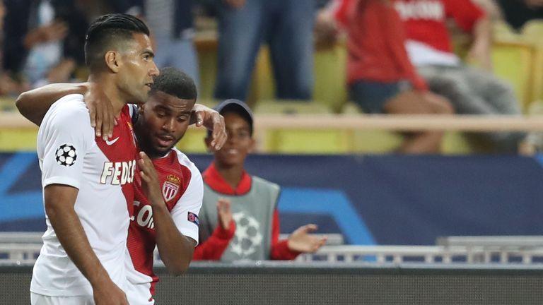 Radamel Falcao pulled Monaco level