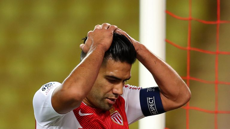 Radamel Falcao has four league goals this season