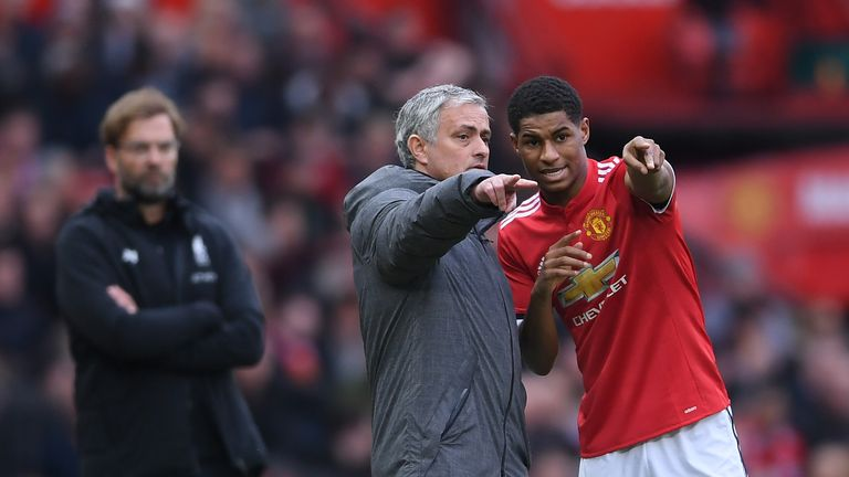 Gareth Southgate believes Jose Mourinho will keep faith in Marcus Rashford at Manchester United