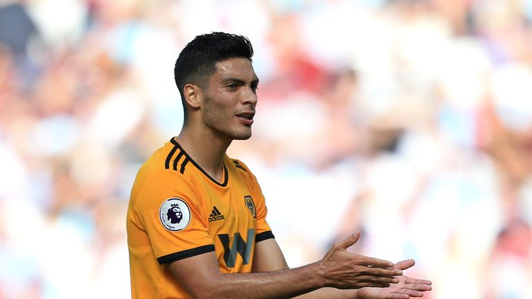 Raul Jimenez says it is a very big step to move from the MLS to the Premier League