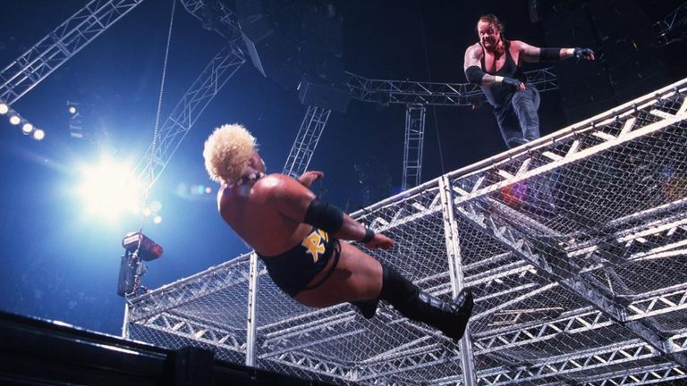 Was the time The Undertaker threw Rikishi off the Cell your favourite Hell In A Cell moment?