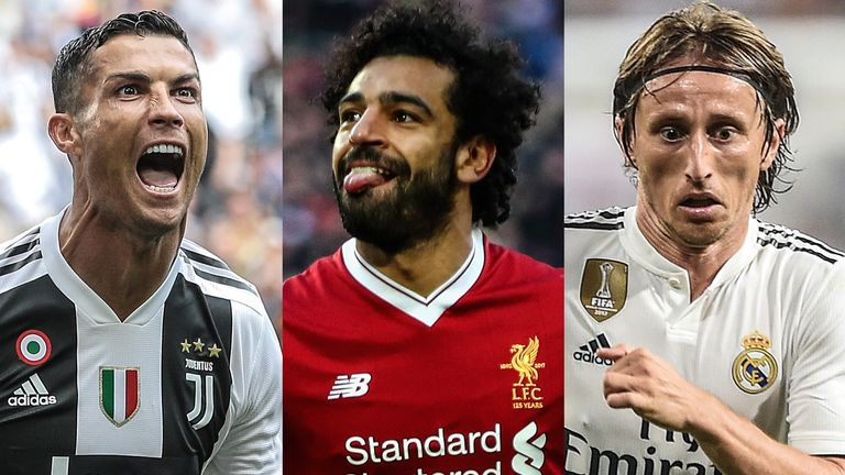 Who will win the FIFA player of the year award?