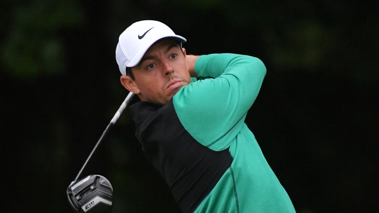 Rory McIlroy kept a bogey off his card but managed only two birdies