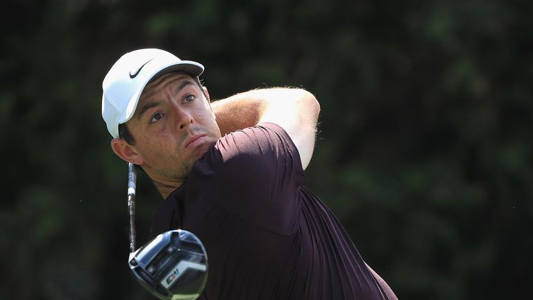 Sergio Garcia leads Louis Oosthuizen at Nedbank Golf Challenge