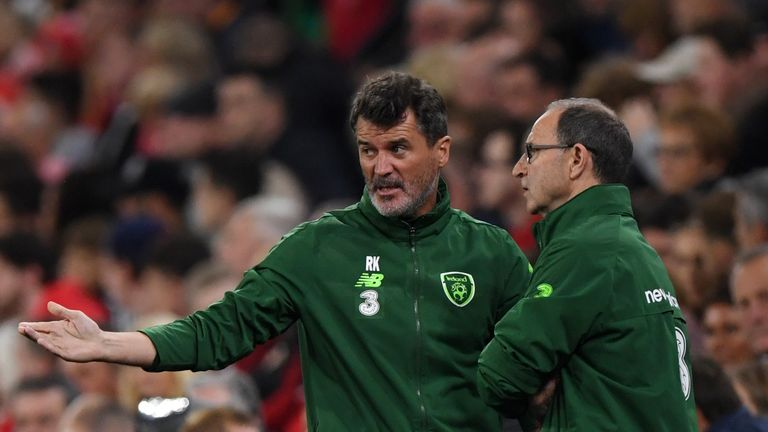 Roy Keane has also left his role