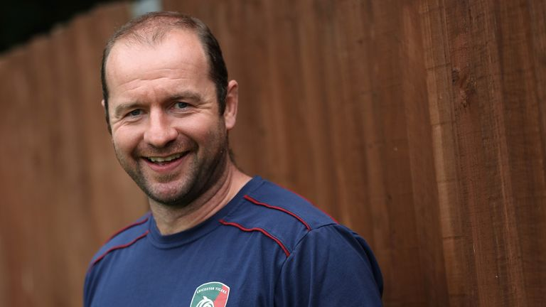 Leicester legend Geordan Murphy has been part of the Tigers coaching staff since retiring in 2013