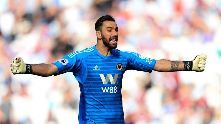 Rui Patricio made two crucial saves for Wolves