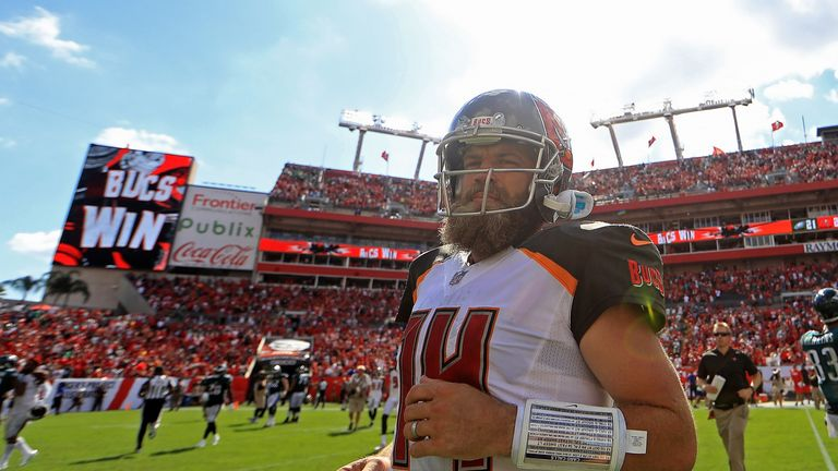 Fyan Fitzpatrick brings his special brand of 'Fitzmagic' to Miami after a strong season with the Tampa Bay Buccaneers