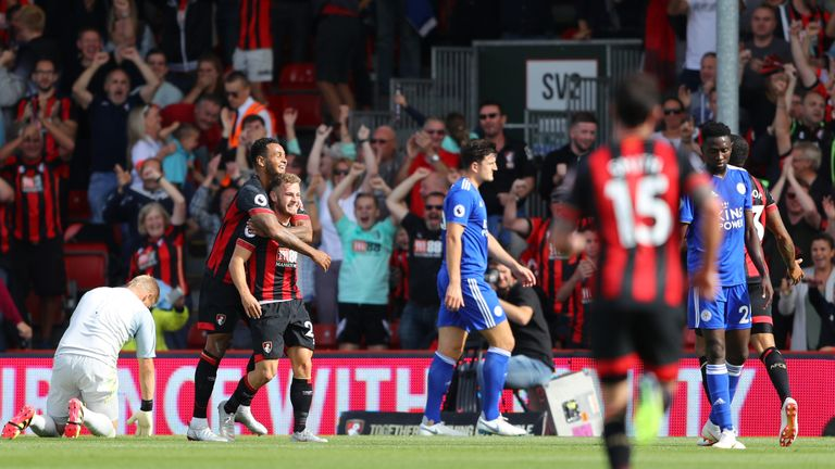 Ryan Fraser scored twice against Leicester last Saturday