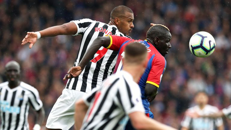 Salomon Rondon was withdrawn at half-time against Palace with a thigh injury
