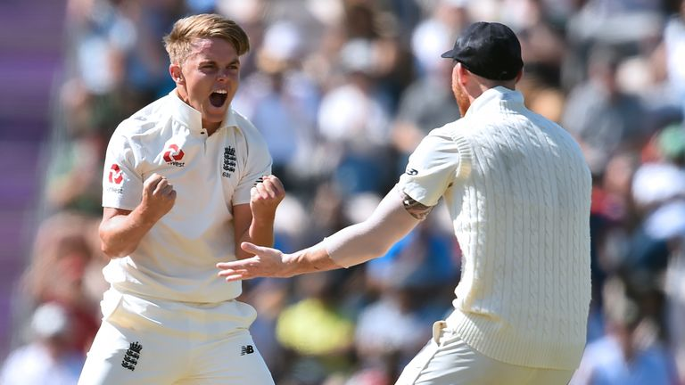 Sam Curran has played a vital part in England's series win