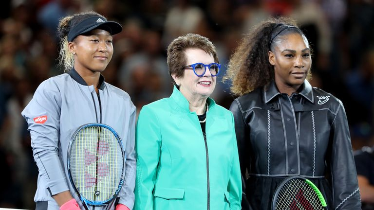 Billie Jean King thanked Serena Williams for calling out a double standard