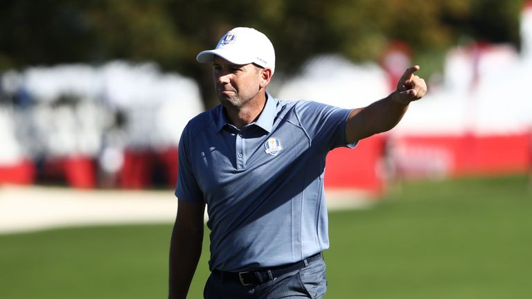 Garcia already in Ryder Cup mindset in Portugal