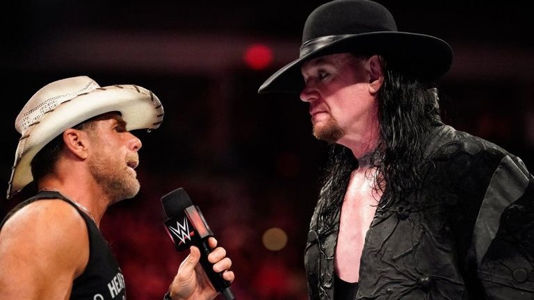 The Undertaker made a highly rare appearance on Raw to confront Shawn Michaels this week