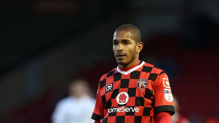 Simeon Jackson left Walsall in the summer