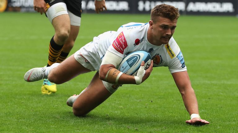 Henry Slade and Exeter continued their highly impressive start to 2018/19