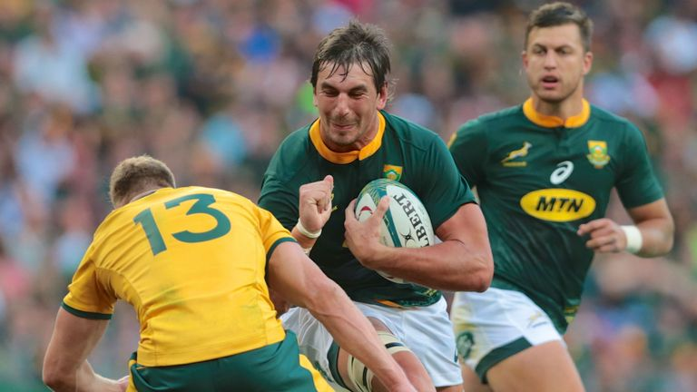 Highlights of the round 5 Rugby Championship clash between South Africa and Australia.