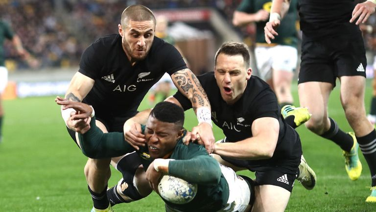 New Zealand host South Africa in the Rugby Championship on July 27