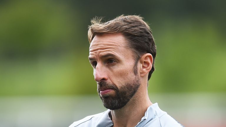 Gareth Southgate says he is '100 per cent' focused on his job as England manager