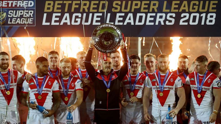 St Helens have now won four League Leaders' Shields between 2007 and 2018, but only one Grand Final