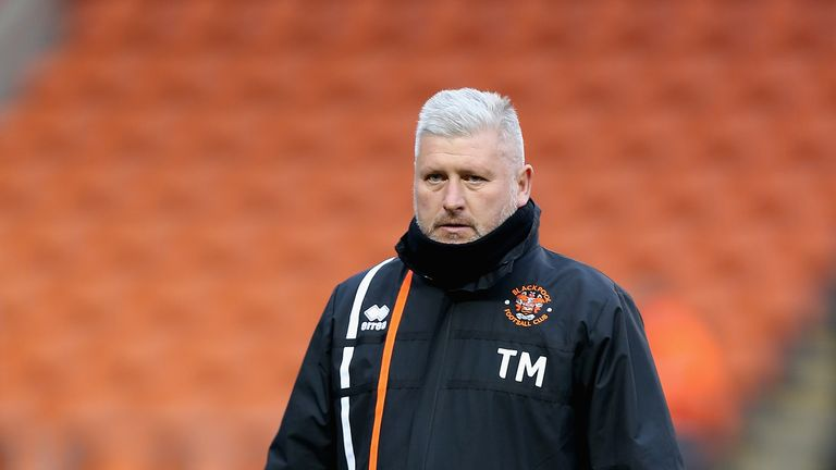 Terry McPhillips could make changes for Blackpool