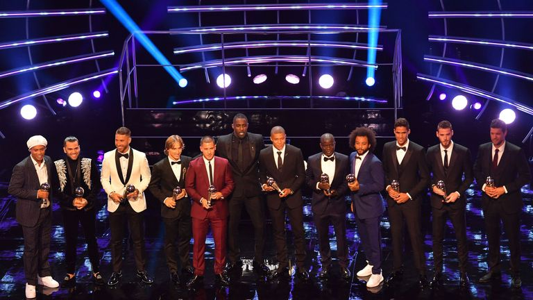 Lionel Messi And Cristiano Ronaldo's Votes For Best Men's Player Award