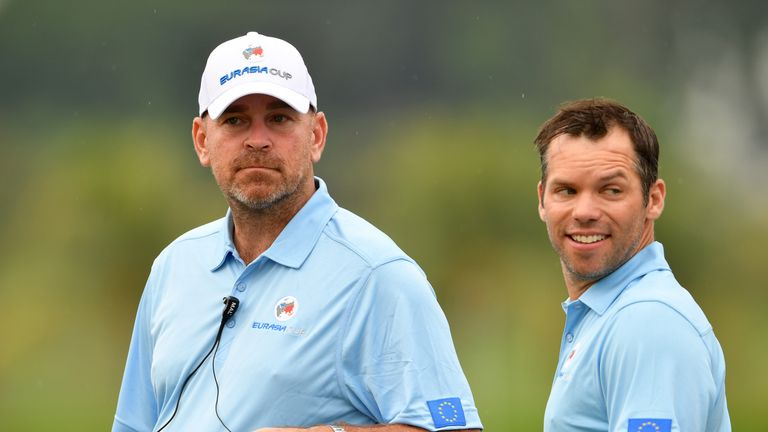 Casey played for Bjorn in Europe's EurAsiaCup team earlier this year
