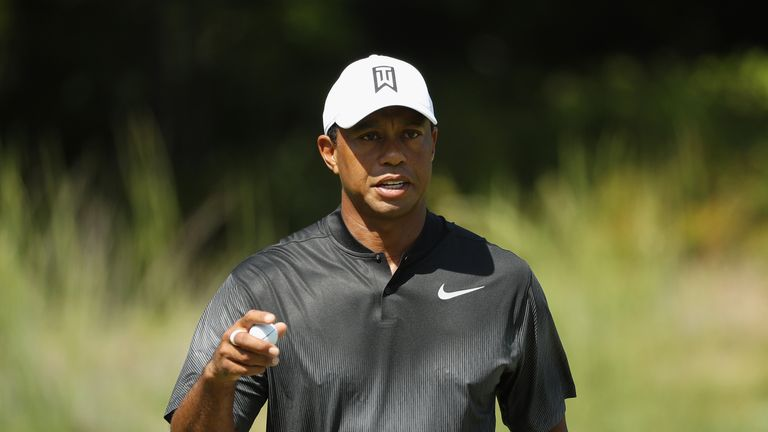 Woods is playing in the FedExCup Play-Off for the first time since 2013