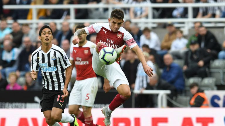 Robert Pires has been impressed with Lucas Torreira