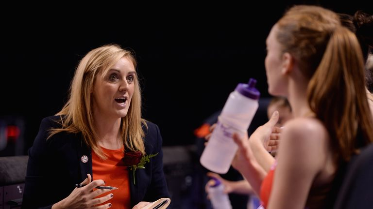 Head coach Tracey Neville is preparing her side for a tough test series back on home soil