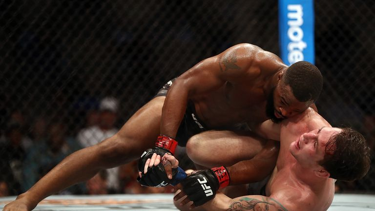 Tyron Woodley was dominant against Darren Till