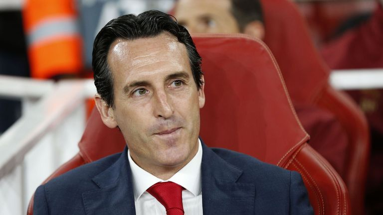 Unai Emery has history in the Europa League - winning it three times in a row