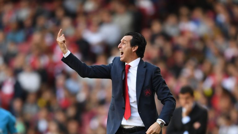 Unai Emery has looked to put his own stamp on the Arsenal squad since his appointment in the summer