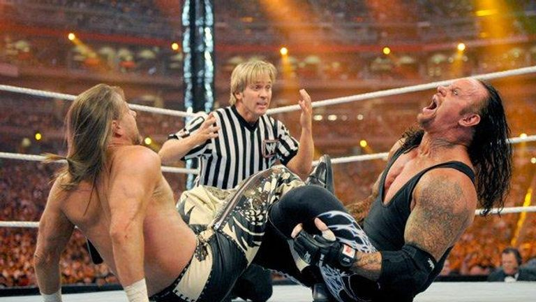 The story around the 'career v streak' match between HBK and Undertaker was one of the best WWE has ever told