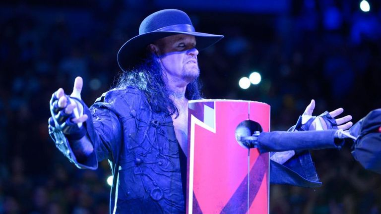 The Undertaker is one of the most well-known competitors in the history of WWE