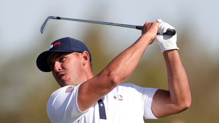 Brooks Koepka registered 1.5 points from his four matches during the 2018 contest