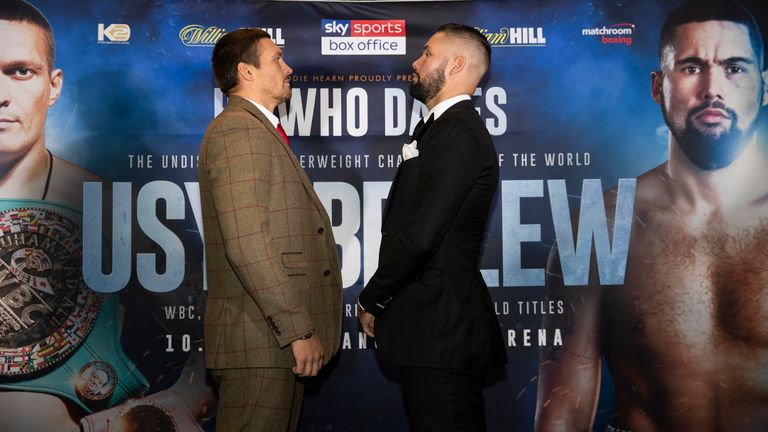 Bellew faces Usyk in Manchester on November 10, live on Sky Sports Box Office