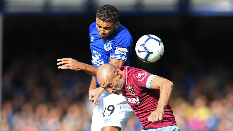 Everton lost their first Premier League game of the season against West Ham