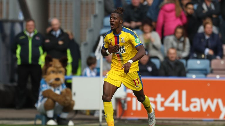 Wilfried Zaha now has three league goals this season